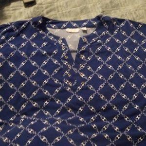 NY & Co Blue Dress